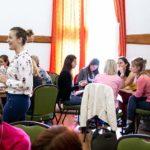 Barta Nikolett és Szlafkai Éva tart workshopot a személyes márkaépítésről a Női Karrierváltó Fesztiválon.